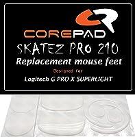 Corepad Skatez PRO 210 vervangende muisvoeten voor Logitech G PRO X Superlight