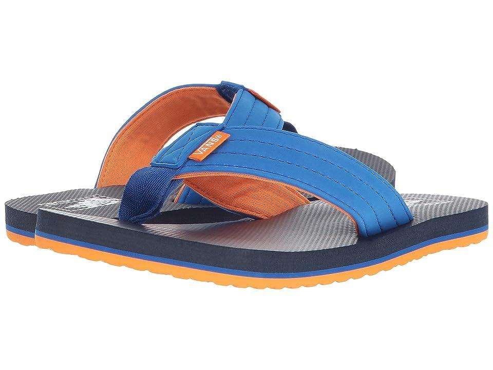 Vans Kids T Street Jr. (Little Kid/Big Kid) (Blue/Orange Pop) Boys Shoes