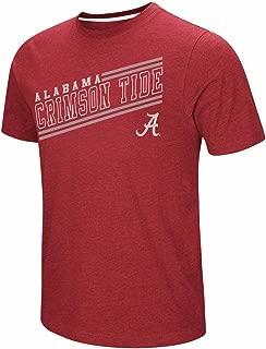 Colosseum Alabama Crimson Tide Adult NCAA Fly Ball Short Sleeve T-Shirt - Crimson,