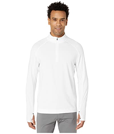 Rhone Courtside 1/4 Zip (White) Men