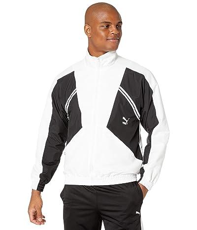 PUMA Puma TFS Woven Jacket (PUMA White) Men