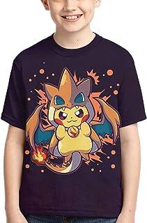 HGYDSB Pikachu تي شيرت ، الأطفال ، الشباب قصيرة الأكمام ، الأزياء ، 3D الترفيه قصيرة الأكمام ، الأولاد ، الفتيات