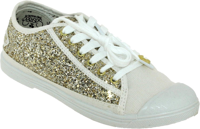 LE TEMPS DES CERISES - shoes Woman Temps des cerises LTC Basic 02 Glitter gold
