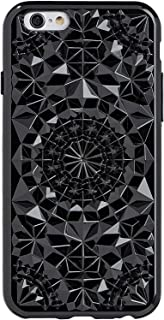 iPhone X/XS Case - FELONY CASE - Beautiful & Stylish 3D Geometric Kaleidoscope Design - Shock Absorbing Protective iPhone X/XS Case Protects Screen & Body (Gloss Black)