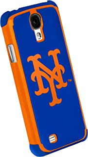 Forever Collectibles MLB Dual Hybrid Galaxy S4 Rugged Case - Retail Packaging - New York Mets