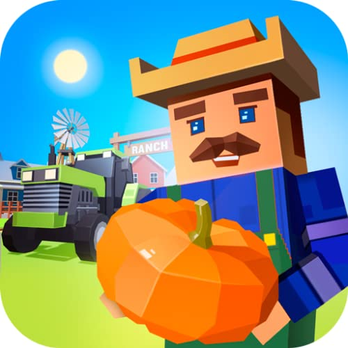Pixel Agriculture Farming Simulator: Harvest Tycoon| Village Plant Grow Empire