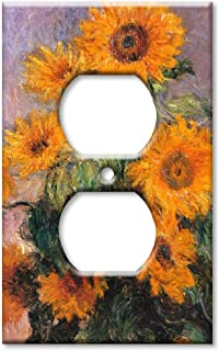 Art Plates - Monet: Sunflowers Switch Plate - Outlet Cover