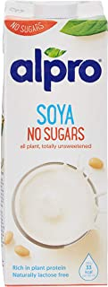Alpro Soya Drink Unsweetened 1 liter (Pack of 1)