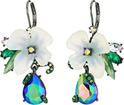Flower Cluster Drop Earrings