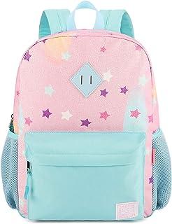 حقائب ظهر للبنات من ميبيسيس، حقيبة مدرسية للأطفال في مرحلة ما قبل المدرسة ورياض الأطفال الابتدائية بألوان قوس قزح