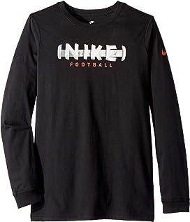 59b8e196be Nike Kids Dry Elite Basketball Long Sleeve Top (Little Kids/Big Kids ...