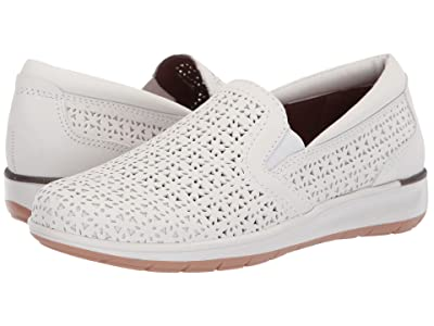 Walking Cradles Orleans (White Perforated Leather) Women
