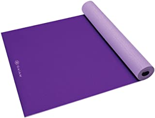 "Gaiam Yoga Mat - Solid Color Exercise & Fitness Mat for All Types of Yoga, Pilates & Floor Workouts (68"" x 24"" x 4mm or 6m..."