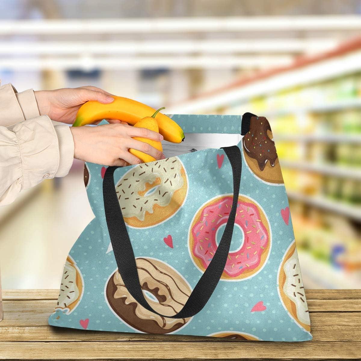 Canvas Tote Bag Colorful Orange Casual Handbags Lightweight Yoga Shopping organization Holder
