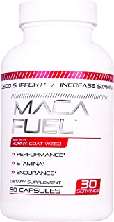 Maca Fuel Male Enhancing Pills (1 Month Supply) - Enlargement Booster for Men - Increase Size, Strength, Stamina - Energy, Mood, Endurance Boost - All Natural Performance Supplement - Made in USA