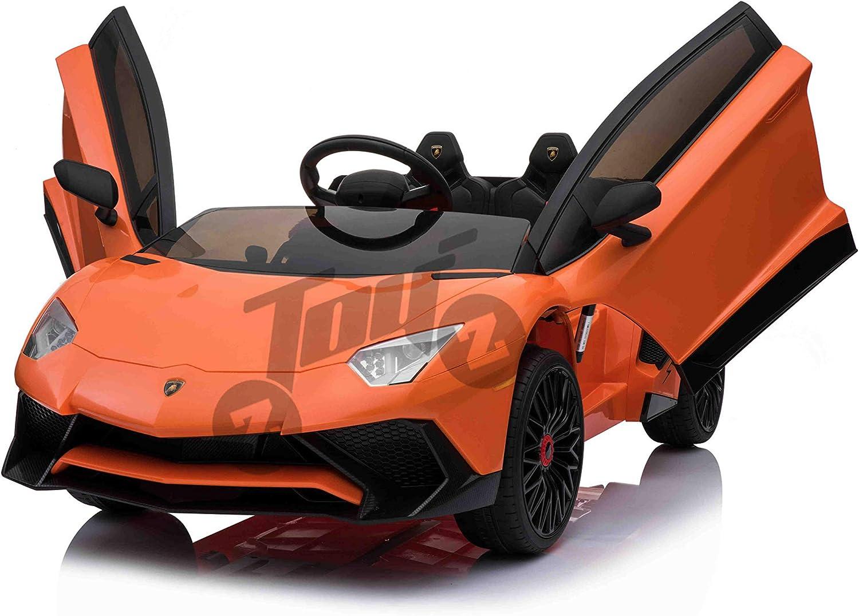 la red entera más baja Lamborghini Lamborghini Lamborghini Aventador 12V Infantil, Mando Parental  grandes ahorros