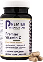 Premier Vitamin C, 60 Capsules, Vegan Product - Plant-Source Vitamin C Formula for Premier Antioxidant, Immune and Optimal Health Support