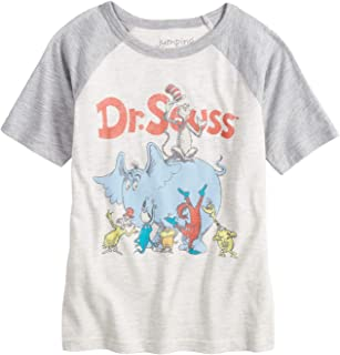 Little Boys' 4-12 Seuss Group Tee