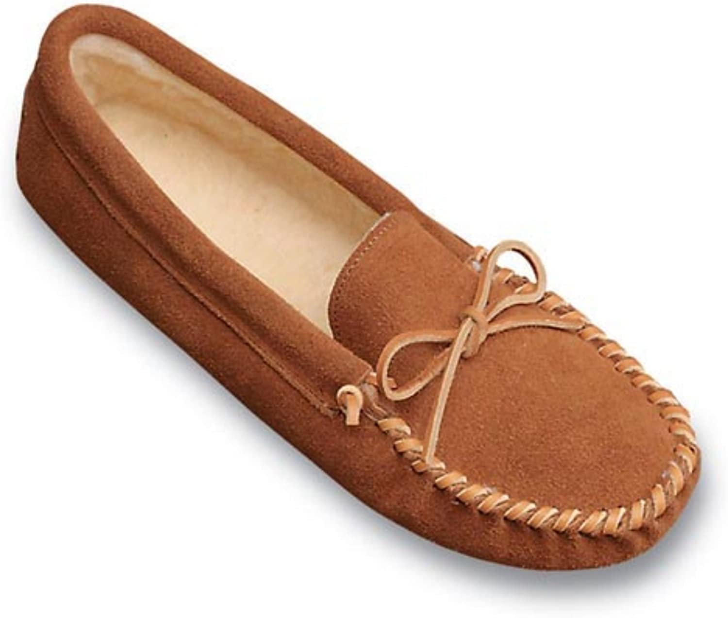 Minnetonka Women's Traditional Pile Slippers Softsole Free Shipping New Medi Max 53% OFF Lined
