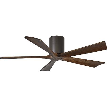 Matthews Ir5h Tb Wa 52 Irene 52 Outdoor Hugger Ceiling Fan With Remote Wall Control 5 Wood Blades Textured Bronze Amazon Com