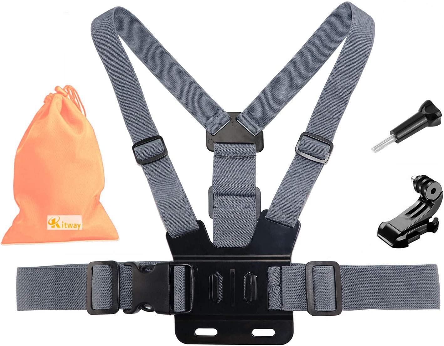 Kitway Chest Mount Harness Elastic Adjustable Actio Strap San Francisco Mall All stores are sold