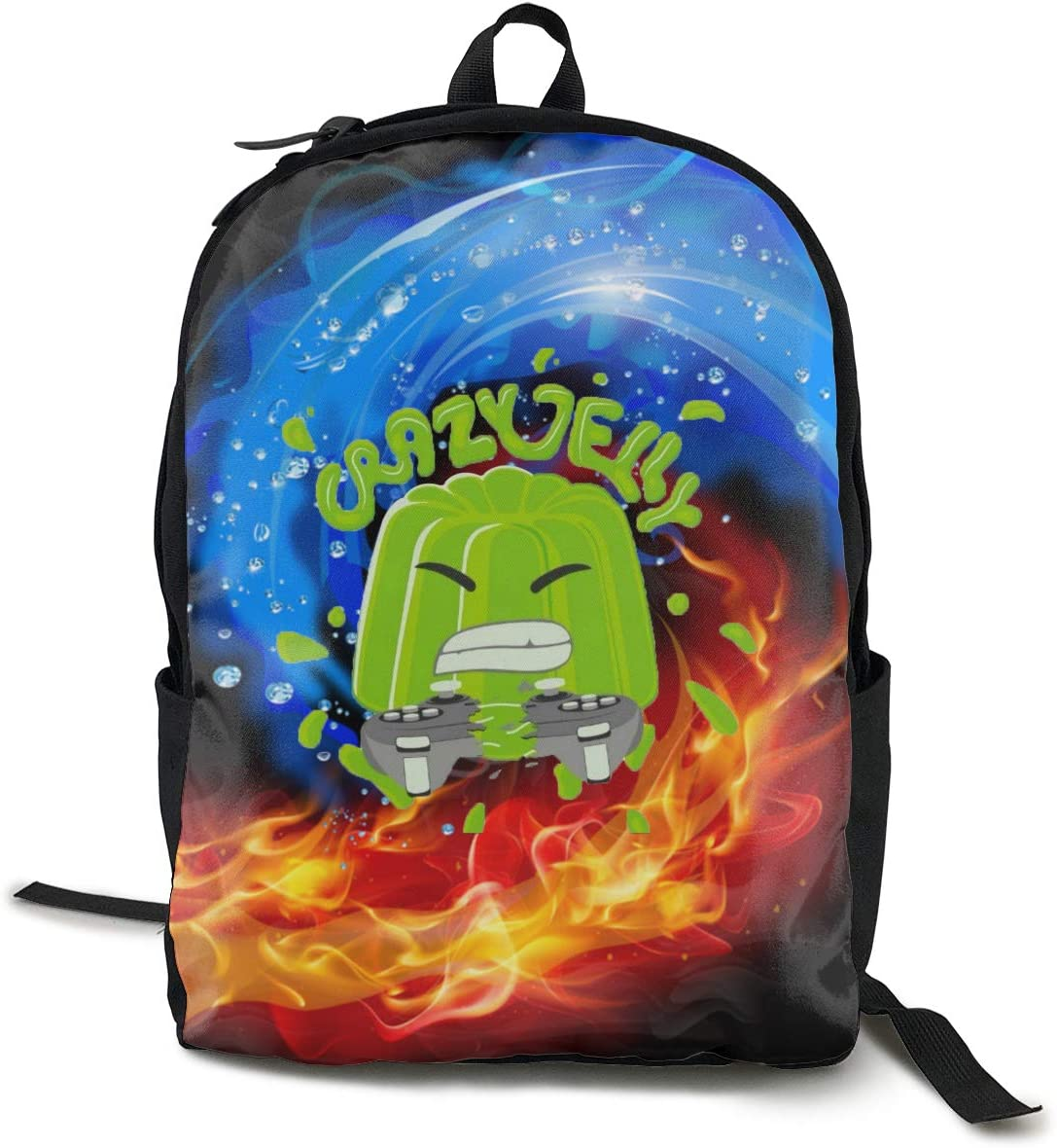 Meeting Kids Cute Schoolbag Crazy Jelly Bookbag 17 Inch Multifunctional Backpack For Teen Boys and Girls YOUTUBE-04