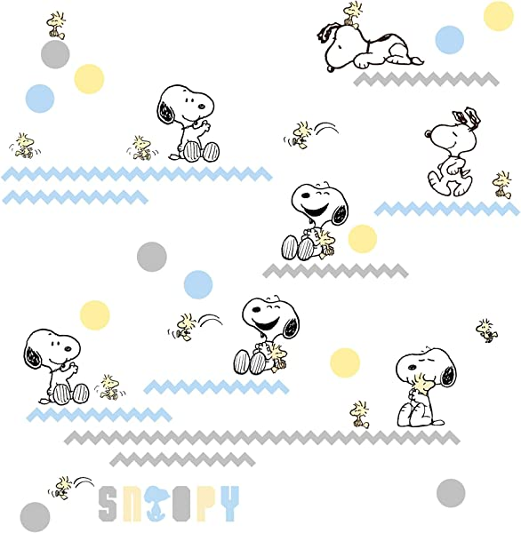 Lambs Ivy My Little Snoopy Wall Appliques