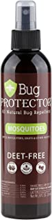Bug Protector All Natural Mosquito/Insect Repellent Spray - DEET Free- 8 oz (1 Bottle)