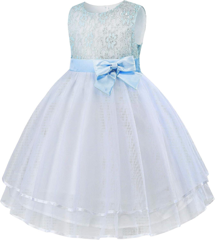 Cichic Baby Girls Dress Girls Party Dresses for Christmas Halloween Costumes Knee Length Flower Girl Dress 0-10 Years