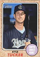 2017 Topps Heritage Minor League #130 Kyle Tucker Corpus Christi Hooks Baseball Card