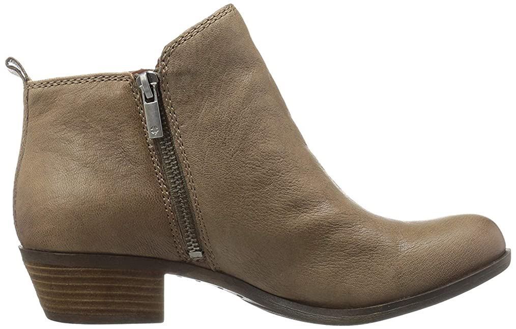 構造的卒業鳴らす[Lucky Brand] Womens Basel Pointed Toe Ankle Fashion Boots [並行輸入品]