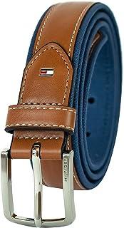 حزام تومي هيلفيقر مبطن باللون البني مقاس 40