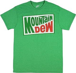 Mountain Dew Soda Shirt Men's Officially Licensed Classic Logo T-Shirt