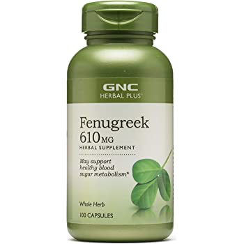 GNC Herbal Plus Fenugreek 610mg