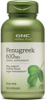 GNC Herbal Plus Fenugreek 610mg