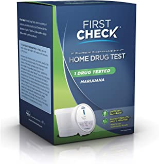 First Check Home Drug Cup Test Marijuana 1 Each (Pack of 4)