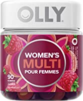 OLLY Vitamin For Women Blissful Berry gluten free multivitamin 45 day supply 90 gummies