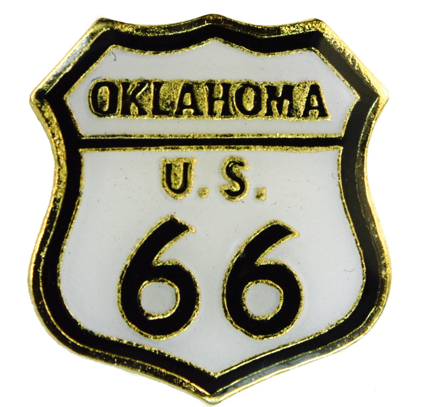 Sujak Military Items Oklahoma Route 66 Will Rogers Highway hat or Lapel pin AK903