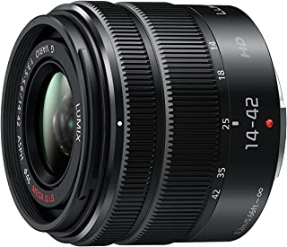 PANASONIC LUMIX G X Vario II Lens, 14-42mm, F3.5-5.6 ASPH., Mirrorless Micro Four Thirds, MEGA Optical I.S., H-FS1442AKA (...