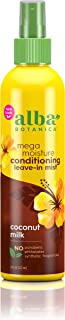 Alba Botanica Drink It Up Coconut Milk Hawaiian Leave-In Conditioning Mist, Orange , 8 oz.