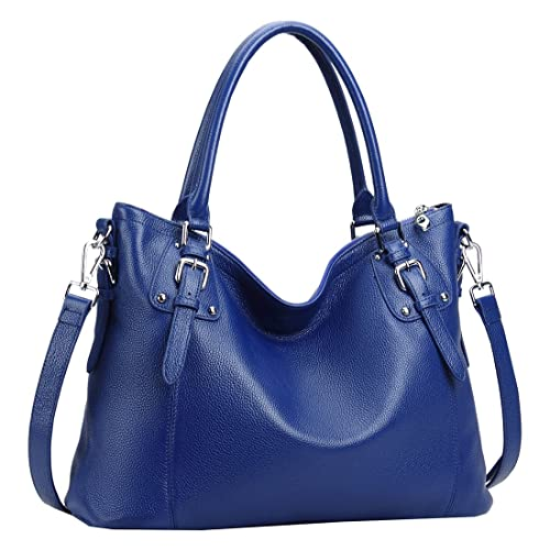 e943ce4258 Heshe Womens Genuinne Leather Handbags Tote Top Handle Bag Shoulder Bag for  Women Crossbody Bags Ladies