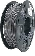Stronghero3D 3D Printing PETG Filaments 1.75mm Net Weight 1KG Accuracy +/-0.05mm (Dark Grey)