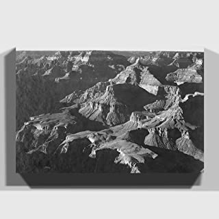 "Arty Pie""Ansel Adams Grand Canyon 2"" Print Canvas, Multi-Colour, 20 x 14-Inch"