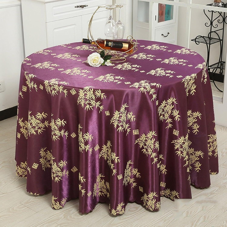 Dining tovaglia Tovaglia dell'alberino Tovaglia del ristorante del tovaglia Tovaglia del salone Tessuto rossoondo rossoondo della tavola (6 Coloreeei facoltativi) (formato facoltativo) durevole