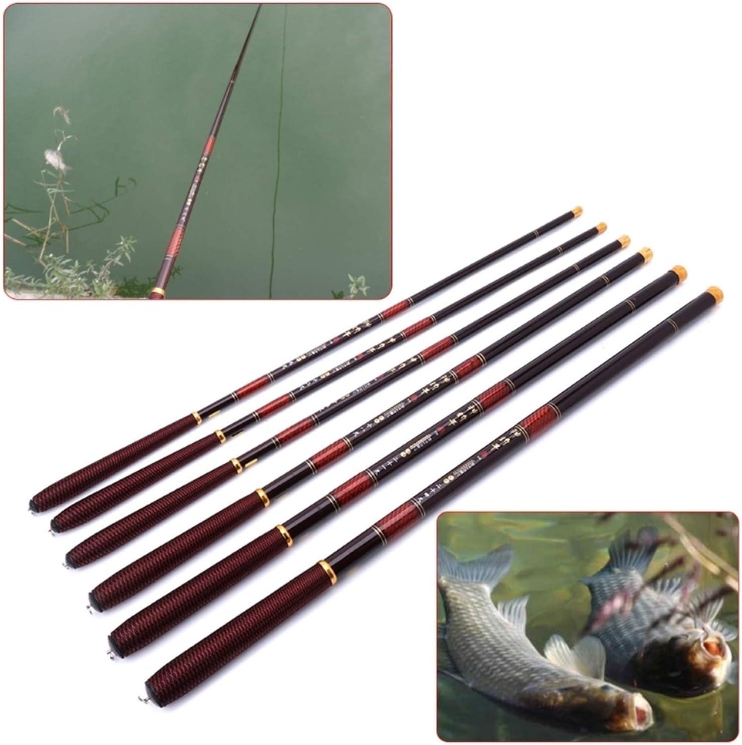 Max 74% OFF VIAIA Fishing Rod 2.7-7.2m Pole High Carbon Ultra Reservation Light Te Fiber