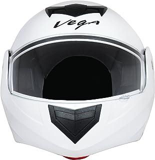 Vega Crux DX Flip-Up Helmet (White, M)