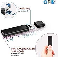 Grabadora de Voz Con Conector Directe para Smartphone| Batería de 26 Horas | Capacidad de Grabación: 94 Horas | 8GB Unidad Flash USB | lightREC por aTTo Digital