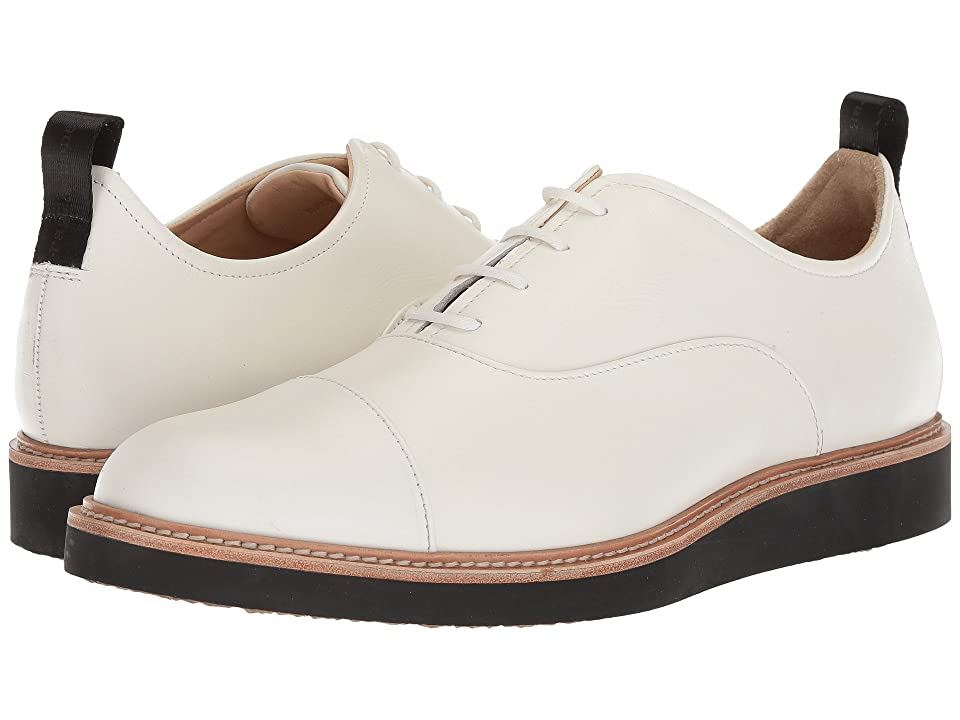 rag & bone Liam Cap Toe Oxford (White) Men