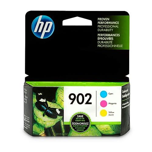 HP 902   3 Ink Cartridges   Cyan, Magenta, Yellow   T6L86AN, T6L90AN, T6L94AN (T0A38AN#140)