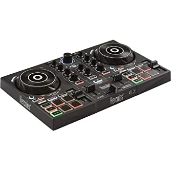 Hercules DJControl Inpulse 200 | Portable USB DJ Controller with Beatmatch Guide, DJ Academy and full DJ software DJUCED included
